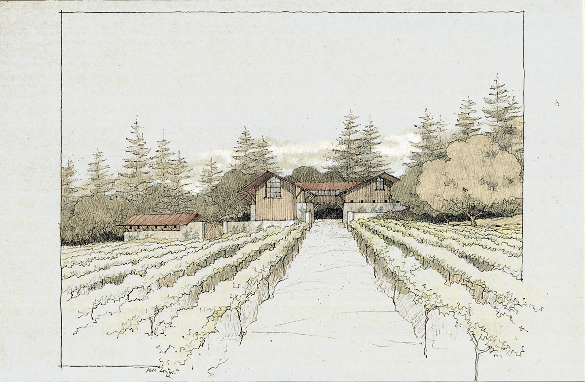 Winery in the Redwoods, Bonnydoon CA | 54 of 104